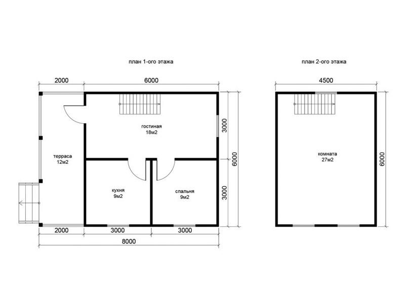 Каркасный дом 6 на 6 обзор # Дом своими руками - YouTube